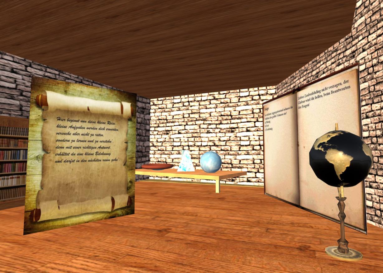 Verschiedene Aufgaben vermitteln dem Spieler erstes Grundlagenwissen aus der Chemie.