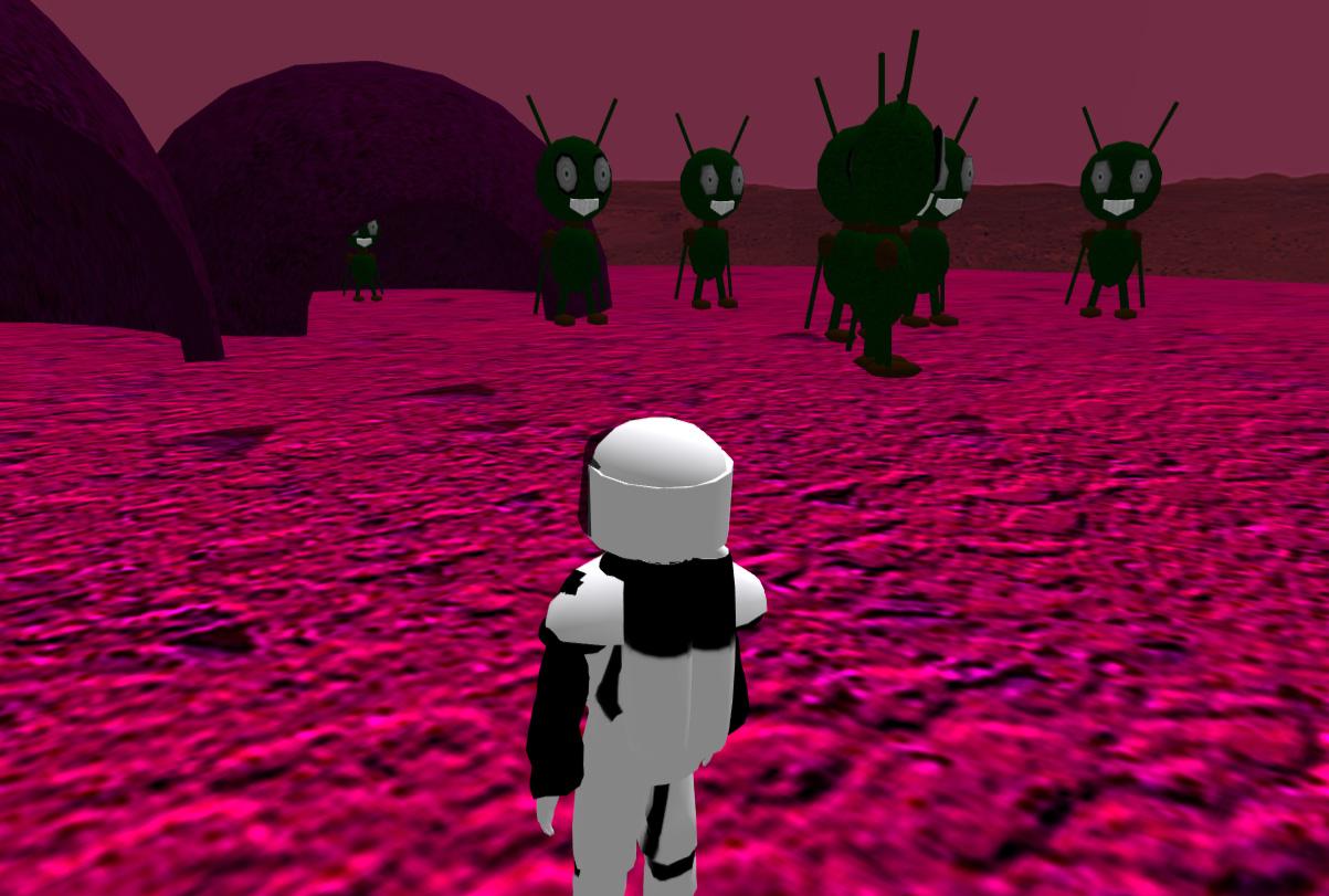 Als kleines Easteregg kann auch ein geheimer außerirdischer Planet erkundet werden.